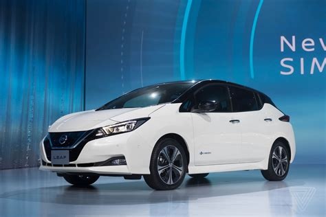 new nissan 2018 leaf up with the 2018 nissan leaf the verge