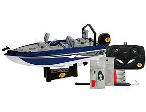 remote control fishing boat bass pro remote control toys