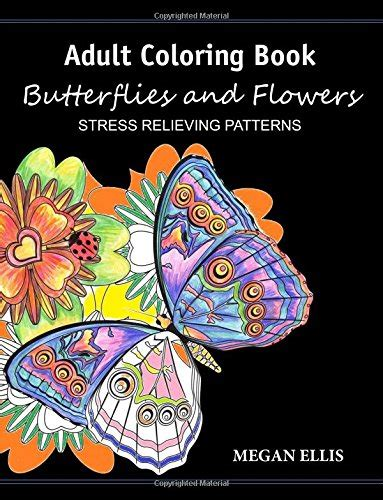 color by number book butterflies stress relieving patterns for relaxation color by number book for adults volume 2 books coloring book butterflies and flowers stress