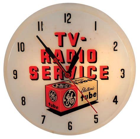 ge light clock auction finds antique general electric light up clock