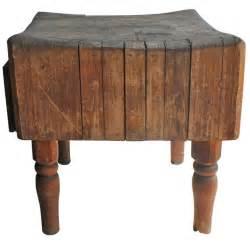 antique butcher block table at 1stdibs vintage butcher block at 1stdibs