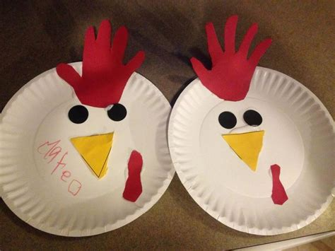 paper plate chicken craft 301 moved permanently