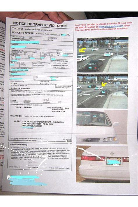 hawthorne red light camera dream on la 注意 赤信号監視カメラ red light cameras be aware