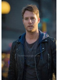Hq 15983 Brown Asymmetric Sweater brian finch jake mcdorman wears a varvatos asymmetrical zip and button front jacket in