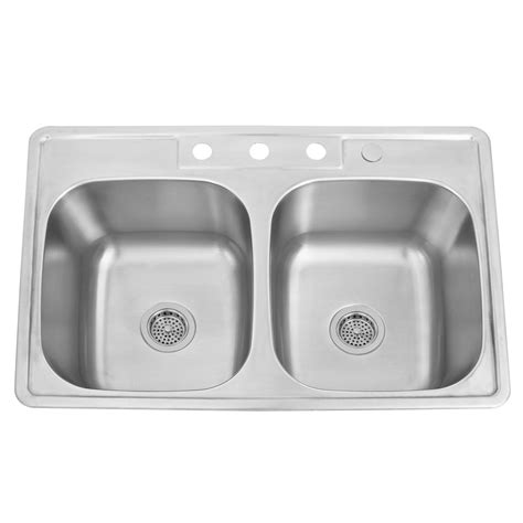 deep stainless steel kitchen sink 32 quot infinite deep double bowl stainless steel undermount
