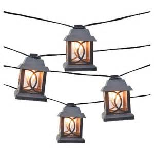 smith and hawken string lights 10ct decorative string lights metal lantern cove target