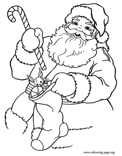 santa claus pictures to color santa claus preparing gifts for coloring page