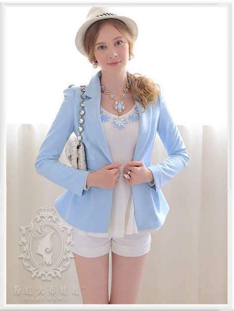 More Inspired By Lnwshop sky blue suit pre order เส อส ทแฟช นผ หญ ง แขน