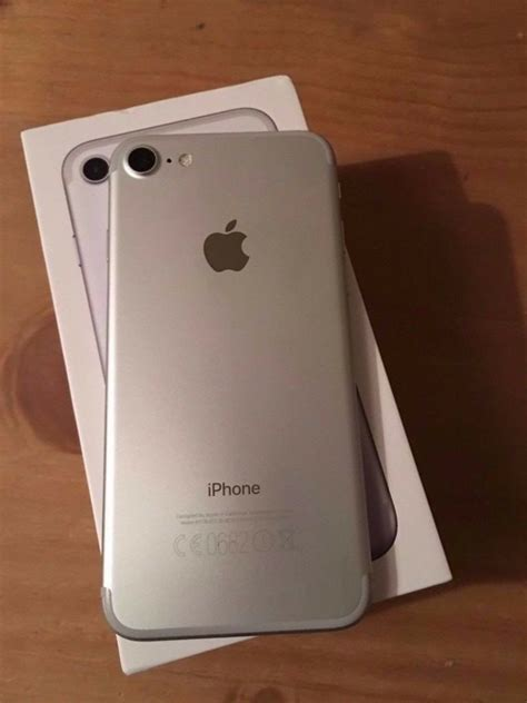 read the ad all questions answered iphone 7 plus 128gb silver sim free in bournemouth
