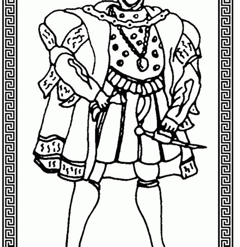 Henry Viii Coloring Pages henry viii coloring pages coloring home