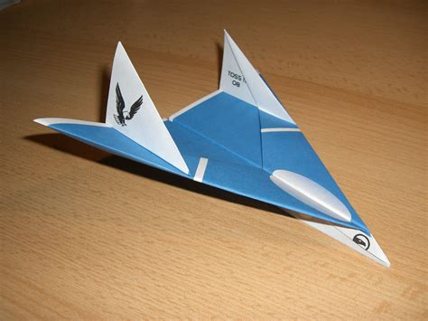 Origami Airplane Jet - the eagle jet paper airplane quot you cannot hide quot