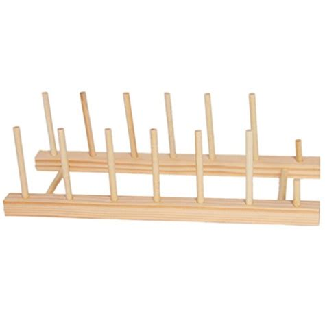 Rack Of Dinner by Kitchen Wood Dinner Plates Holder Stand Dish Drainer Rack