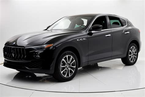 suv maserati black 2017 maserati levante for sale 77 550 fc kerbeck