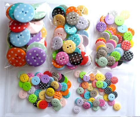 Balon Adalima Polkadot Brown 11 Inch 8 Pcs large polka dot buttons mixed bag of 50 from paperandstring on etsy studio