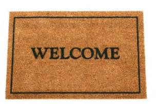 Welcome Mat Welcome To My New Site Robin Robertson