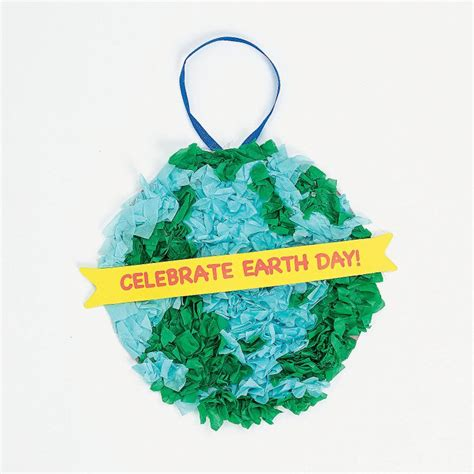 earth day paper crafts earth day tissue paper crafts