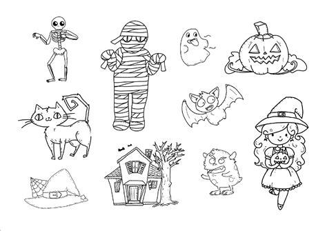 imagenes halloween para niños preescolar dibujos de halloween para colorear im 225 genes halloween