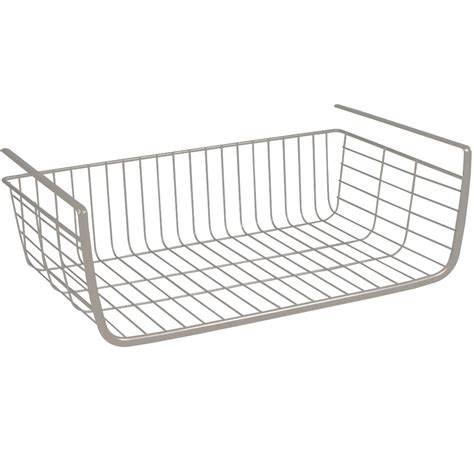 shelf wire basket in shelf storage racks