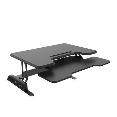 escritorios de pie logix engranaje 36 altura de pie ajustable de escritorio