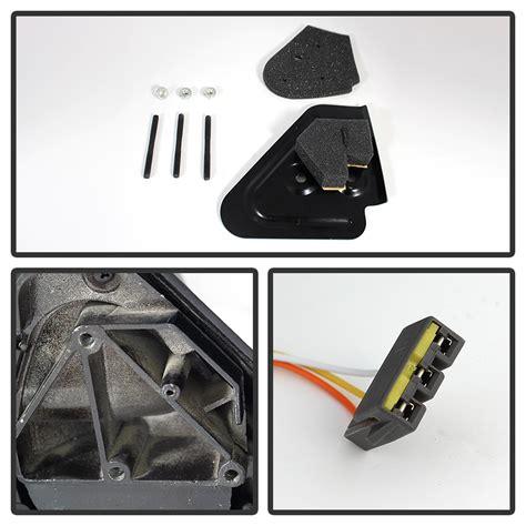 94 97 Dodge Ram [Power Adjust] Telescoping Towing Side Mirror