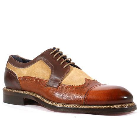 jose real italian mens shoes crust brown velour re1004