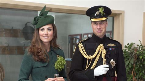 duchess of cambridge duke and duchess of cambridge to brave snow for st patrick s day parade bt