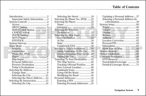car maintenance manuals 2003 honda pilot navigation system 2003 honda pilot navigation system owners manual original