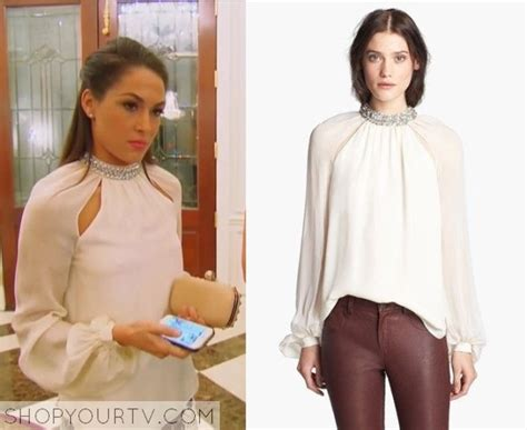 brie bella x factor wwe total divas season 2 episode 1 brie s silk blouse