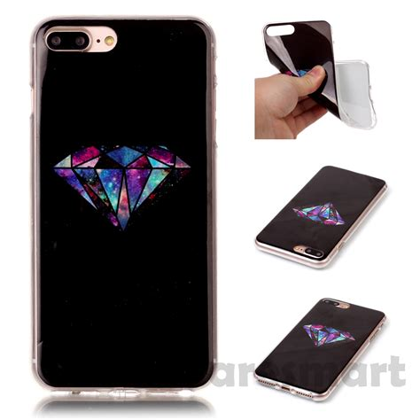 Soft Tpu Gel Crashproof Airbag For Iphone 7 Plus 2 painted pattern silicone gel soft tpu back cover shell for iphone 7 7 plus ebay