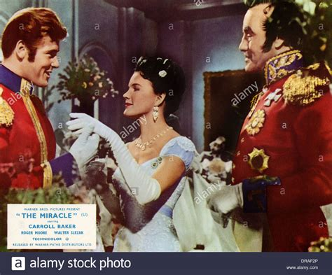 The Miracle With Roger The Miracle 1959 Roger Carroll Baker Irving Rapper Dir Stock Photo Royalty Free