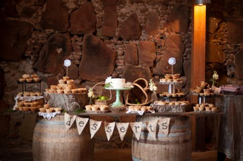 how to create a rustic dessert table for your barn wedding rustic dessert table wedding at santa margarita ranch