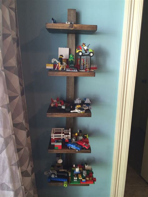 lego display on pinterest lego display shelf lego room lego display shelf do it yourself home projects from ana
