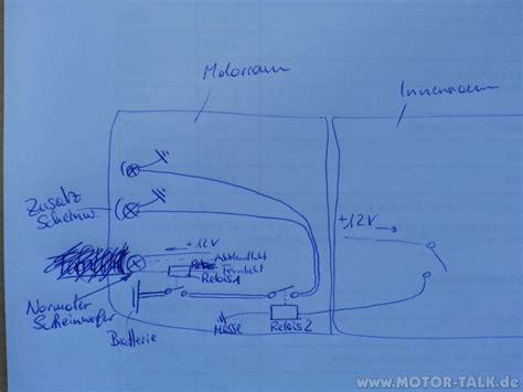 Schaltung Zusatzscheinwerfer Motorrad by Schaltplan Schaltung F 252 R Zusatzscheinwerfer 252 Ber