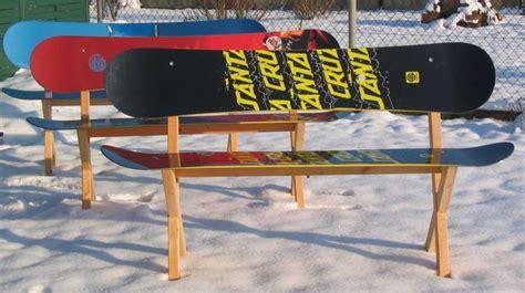 snowboard bank geschenke f 252 r snowboarder sitzb 228 nke