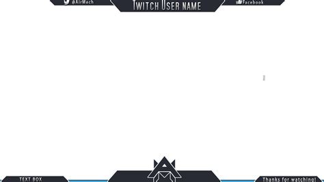 twitch overlay template 15 twitch banner psd images twitch overlay template