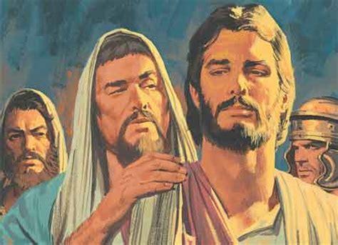 testament stories chapter   trials  jesus