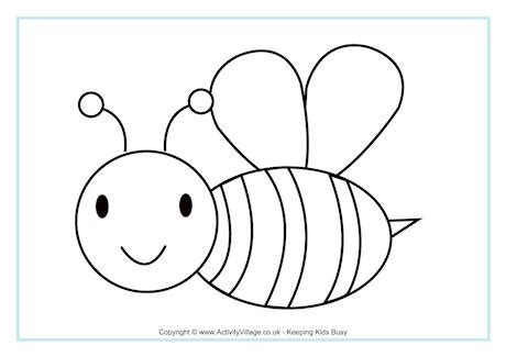Picture For Colouring Bee Colouring Pages Free Coloring Free Printable Christmas Coloring Pages L