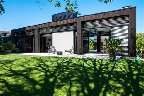 house design nz large glass sliding doors modern house in auckland new zealand