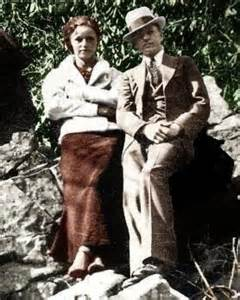 bonnie and clyde photos in color bonnie and clydes house