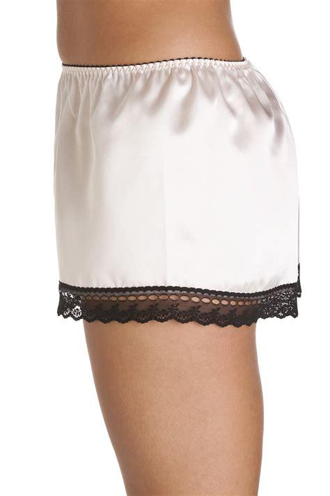 light pink shorts luxury light pink satin french knicker shorts