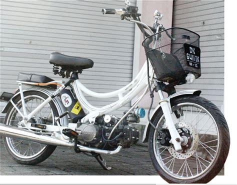 Foto Sepeda Motor Modifikasi by Bebek Modif Racinginjectedbali