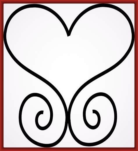 dibujos para colorear corazones bonitos fotos de corazones dibujo de un corazon para colorear bonito fotos de corazones