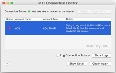 mac mail    enter password heres   fix
