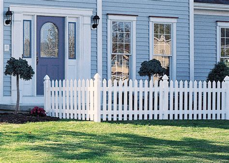 home depot freedom vinyl fence fences