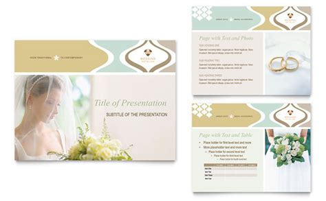 wedding slideshow template wedding store supplies powerpoint presentation template