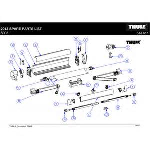 awning repair parts thule omnistor 5003 awning for motorhome cervan
