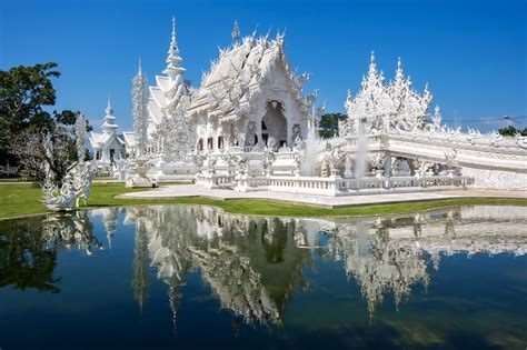The White Temple, or Wat Rong Khun, in Chiang Rai