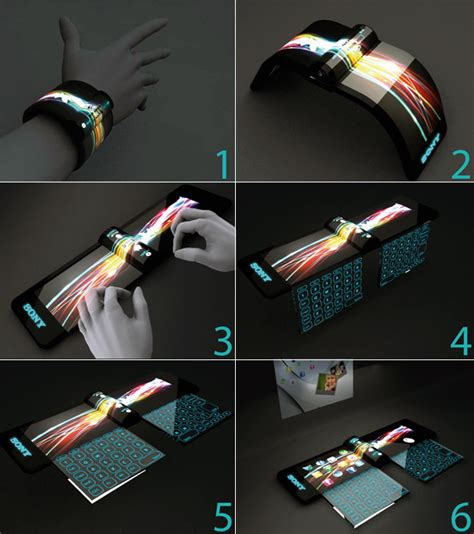 in 2020 we can wear sony computers on our wrist yanko design