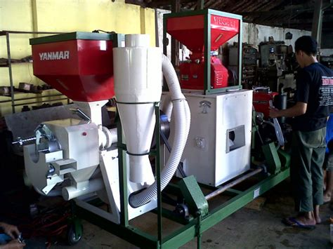 Harga Mesin Pemutih Beras Merk Yanmar penggilingan padi portable yanmar cv bengkel murni