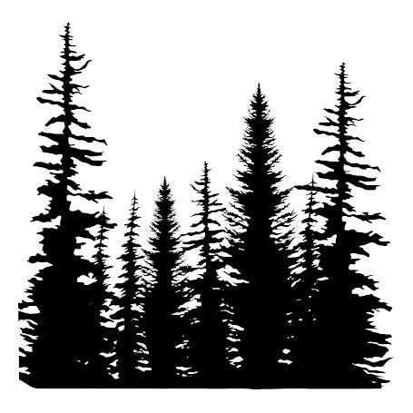 pine tree silhouette tattoo 621 best plasma cut trees images on frame